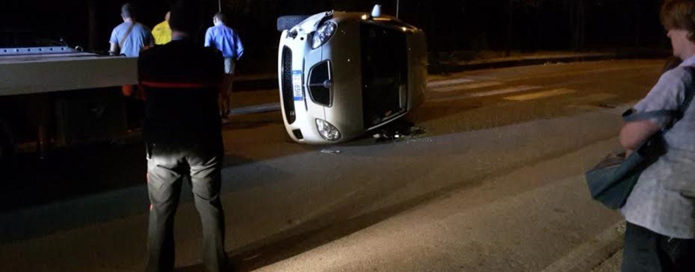 Incidente stradale a Vallata, due in ospedale in scontro frontale