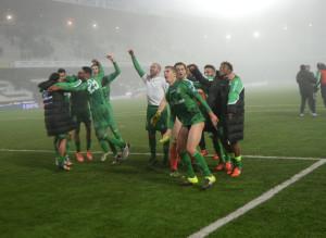L'Avellino vince nella nebbia di Cesena: è il quinto successo di fila
