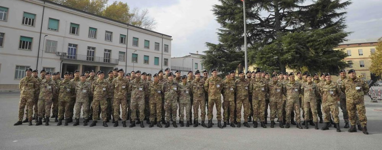 I militari della Caserma Berardi da Avellino a Caltanisetta per l'operazione Strade Sicure