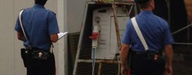 Sicurezza sul lavoro, Carabinieri nei cantieri: denunciata una persona