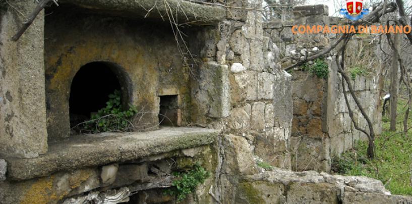 Avella – I Carabinieri trovano munizioni e polvere da sparo in un casolare abbandonato