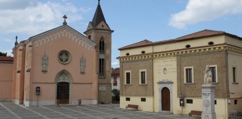 A Castel Baronia la passeggiata EcoPaesoLogica