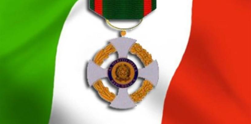 Aquilino Zerella insignito dell'onorificenza di Cavaliere della Repubblica
