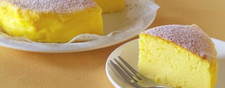 Ricette veloci – Soufflé Cheesecake con soli tre ingredienti
