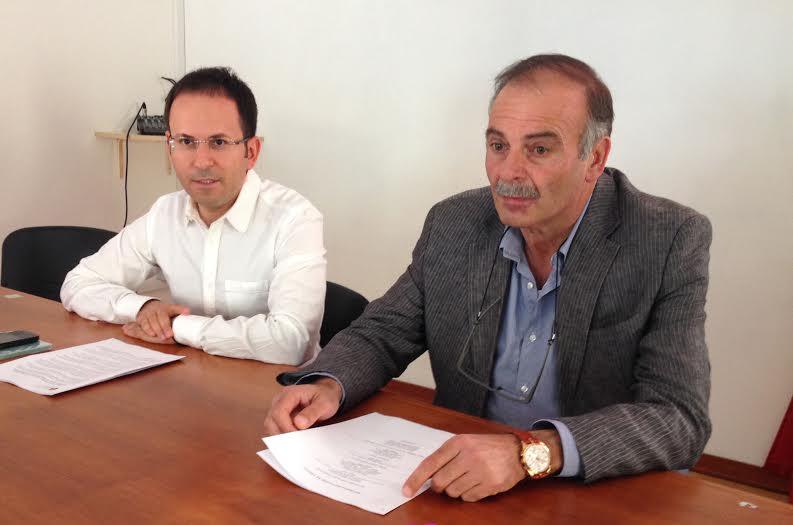 Luca Cipriano e Carmine Santaniello
