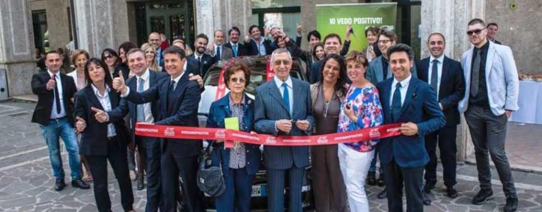 Premiato con una Fiat 500 il vincitore del concorso di Generali Italia.