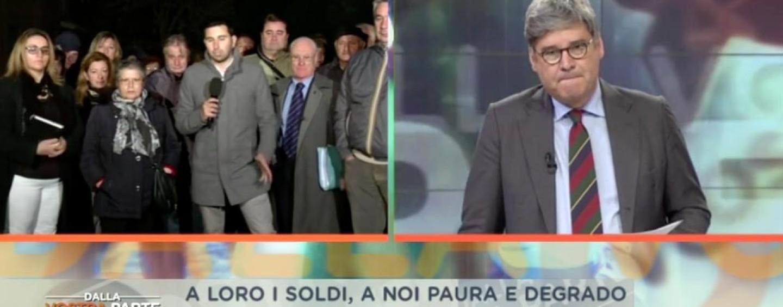 FOTO/ Il degrado delle periferie di Avellino, immagini choc in diretta nazionale
