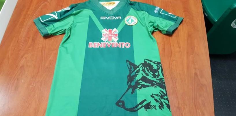 Avellino Calcio – Beneficenza pro Sannio: cambia la scritta sulle maglie dei lupi