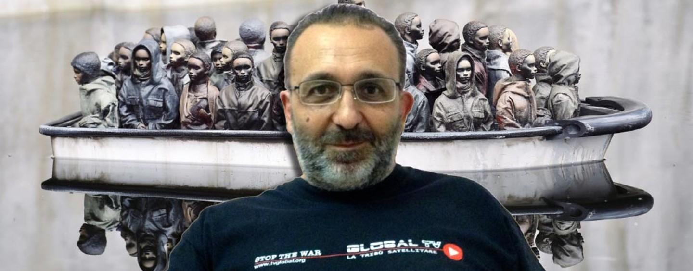 """""""Salvini strumentalizza il Natale come i terroristi fanno con l'Islam"""". Don Vitaliano ci racconta il suo presepe"""
