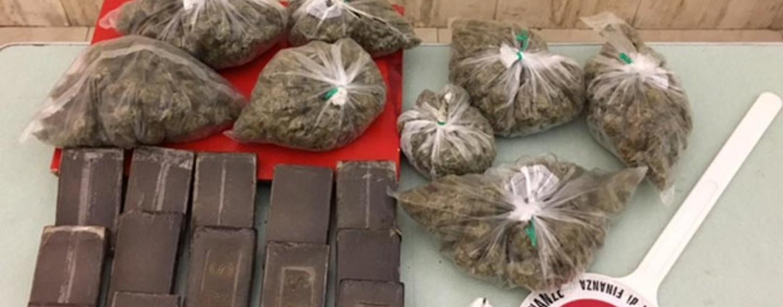 Sannio, sequestrati oltre 2 chili di droga