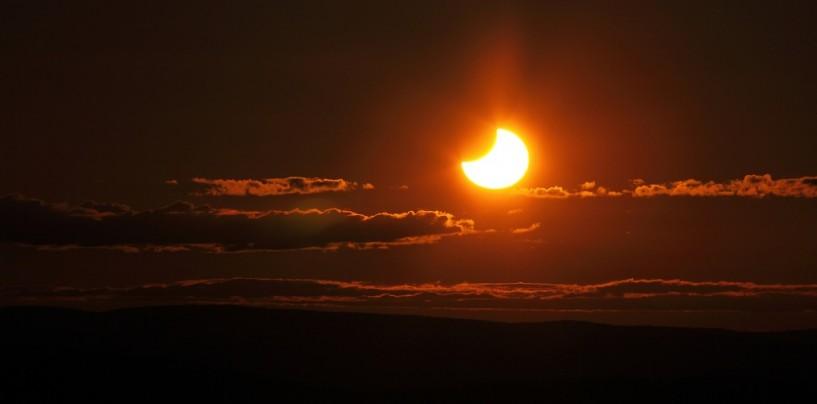 Eclissi del secolo, stamane Avellino al buio per il 49 %