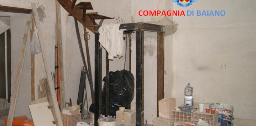 Moschiano, costruzione abusiva nel centro storico: denunciate due persone