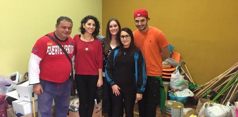 Alluvione Benevento – Il Forum dei giovani di Baiano consegna i beni di prima necessità alla Caritas