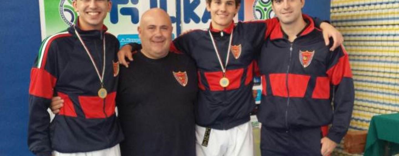 Shizoku-Karate, Fotino Academy: sei atleti convocati in nazionale