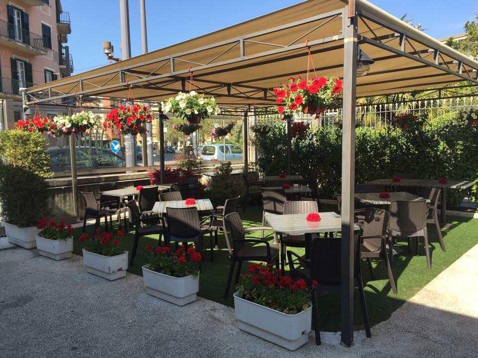 La zona garden del ristorante Minù