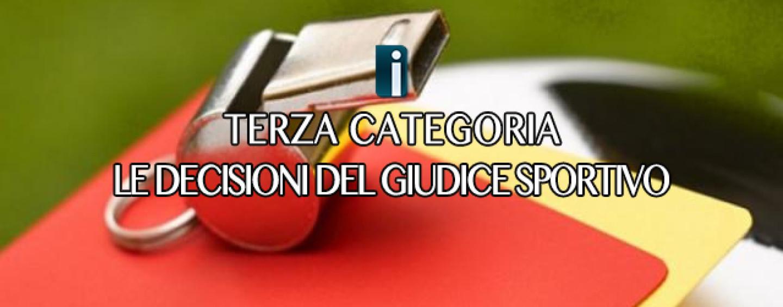 Terza Categoria – Giudice Sportivo: in campo calciatori non tesserati, punite le società