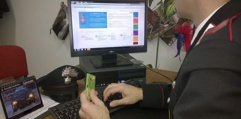 Ariano Irpino: ennesima truffa, carabinieri denunciano un 40enne di Cagliari