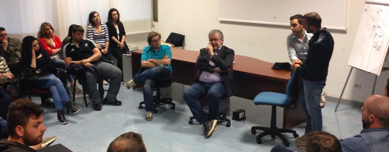 Regionali, Iannace incontra gli alunni di Farmacia all'Ateneo di Fisciano