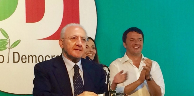 """Regionali, Renzi: """"Tempi brevi per l'Alta Capacitá in Irpinia"""""""