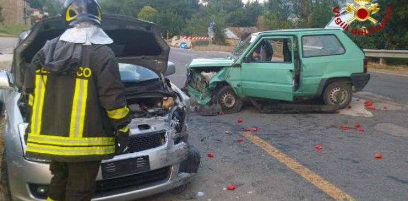 Incidente stradale a Montaguto: due feriti