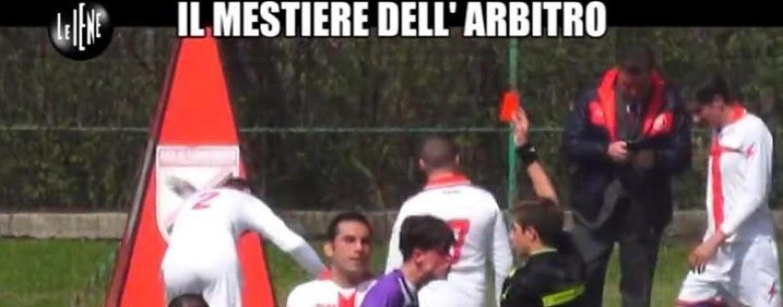 """Calcio Minore – Un arbitro Irpino sugli schermi de """"Le Iene"""""""