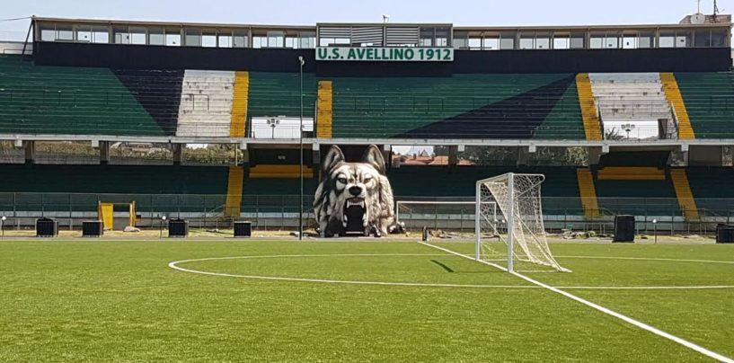 Lo Stadio Partenio Lombardi ospiterà il Frosinone