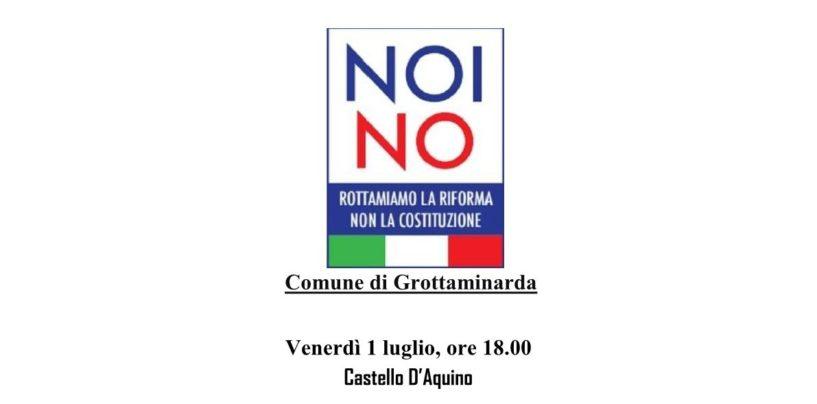 """""""Referendum Costituzionale: Riforma o rottamazione?"""", Domani il Convegno a Grottaminarda"""