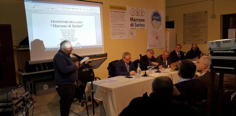 Serino, presentato il marchio ed il disciplinare del Marrone Igp di Serino