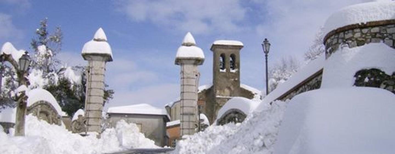FOTO/ 4 Febbraio 2012: quattro anni fa nevicata record in Irpinia
