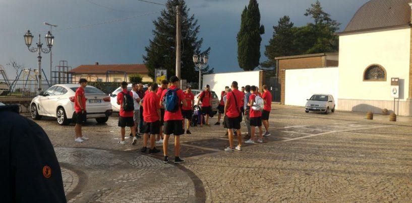La Nocerina arriva in Irpinia, il ritiro tra Montefusco e Pratola Serra