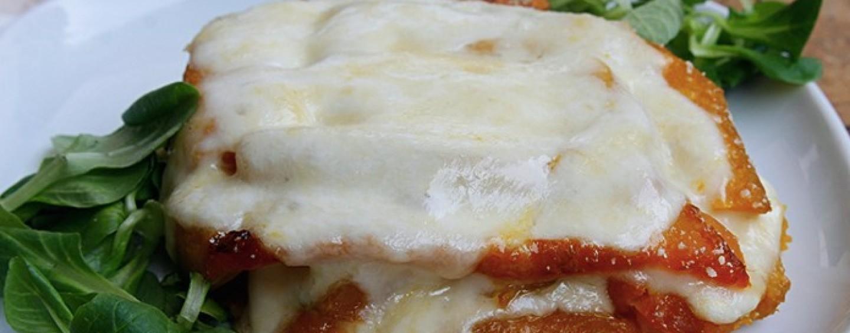 Ricette veloci – Parmigiana di zucca al forno
