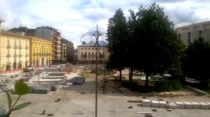 Piazza Libertà vista dai balconi di Giorgetti Studio
