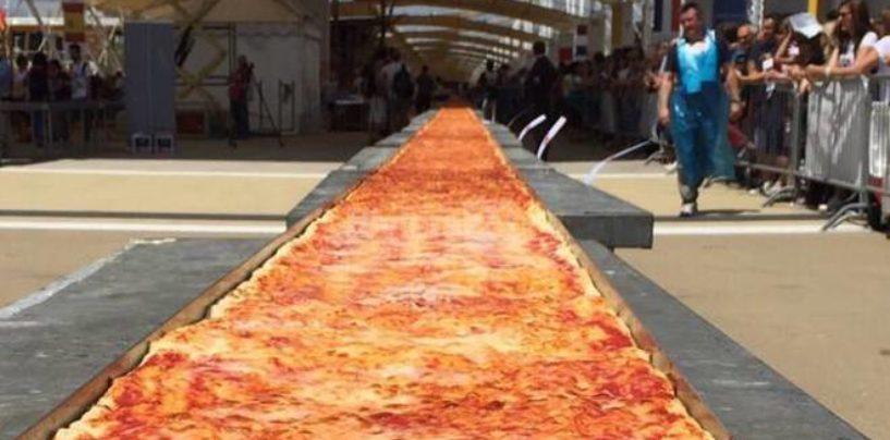 A Napoli la sfida per la pizza più lunga del mondo