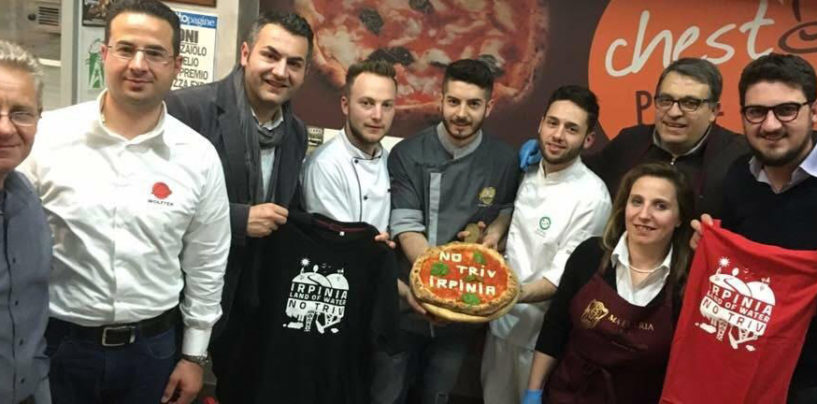 Pizza No Triv e prodotti tipici irpini, serata di gala a Lioni