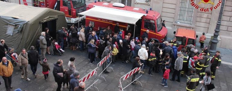 """Vigili del Fuoco Avellino, successo per la manifestazione """"Pompiere per un giorno"""""""