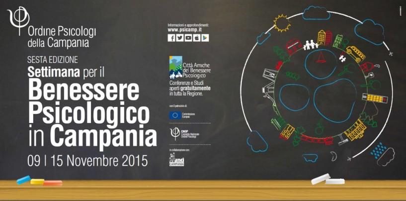 Settimana per il Benessere Psicologico, gli eventi di Avellino e provincia.