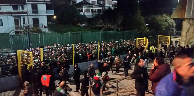 """Avellino Calcio – Ressa ai varchi, tifosi stufi: """"A rischio la nostra incolumità"""""""