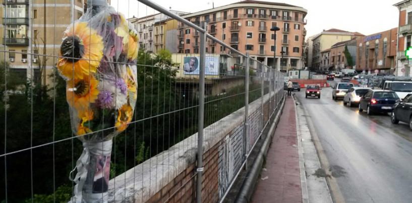 FOTO/ Avellino, ecco le reti anti suicidio al Ponte delle Ferriera