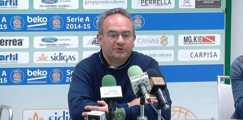 """Sidigas Avellino, Sacripanti allerta i lupi: """"Brindisi imprevedibile, attenzione al fattore campo"""""""