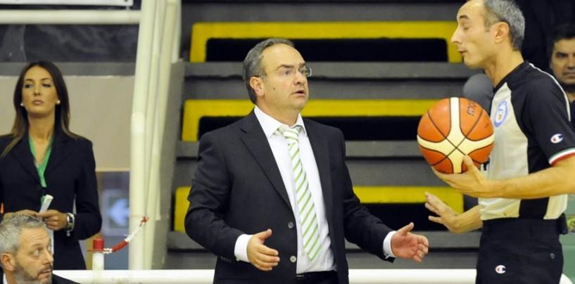 """Sidigas, il mea culpa di coach Sacripanti: """"Ho sbagliato, chiedo scusa ai tifosi"""""""