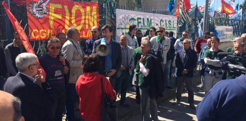Sciopero dei metalmeccanici, i lavoratori irpini a Napoli per il rinnovo del contratto
