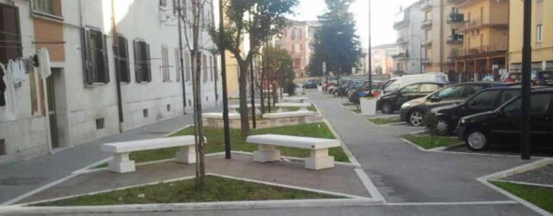 Largo Scoca – largo Malzoni, completati gli interventi di riqualificazione dell'area urbana