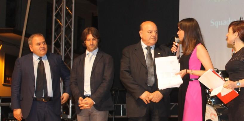 """FOTONOTIZIA/ Taccone agli Italian Sport Awards: """"Rastelli resta con noi"""""""