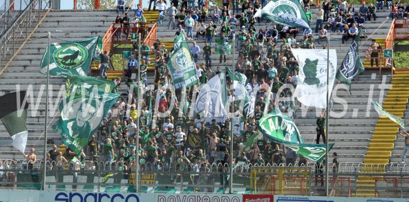 Avellino Calcio – Lupi scortati anche a Chiavari: il dato parziale del settore ospiti