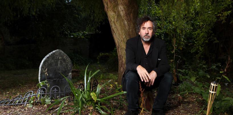 FOTO/ Quando Tim Burton venne a fare l'albero ad Avellino