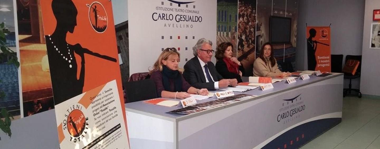 """Teatro Gesualdo e Total Life presentano il 1° Premio del concorso """"Totalife Onlus"""""""