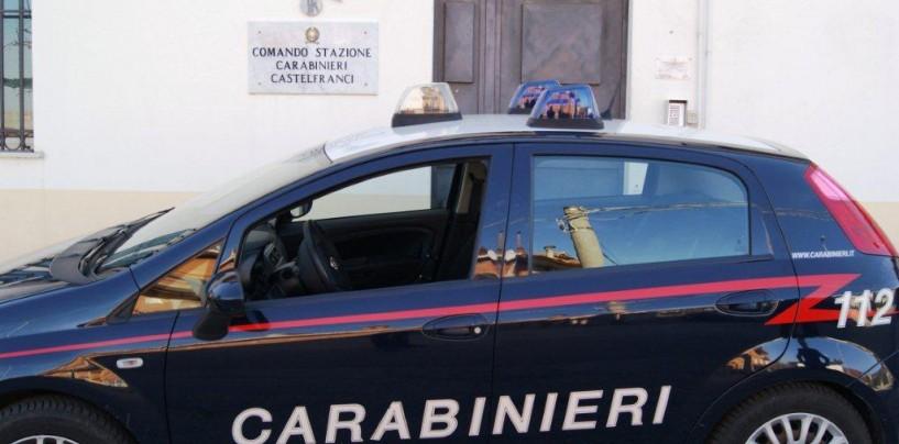 Rissa di Carnevale a Castelfranci: quattro giovani nei guai