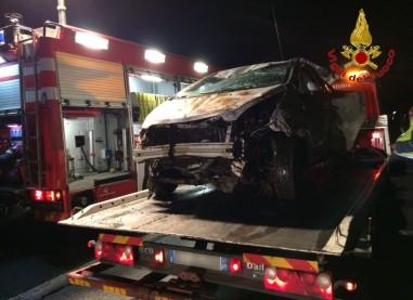 Fotogallery incidente raccordo Salerno Avellino