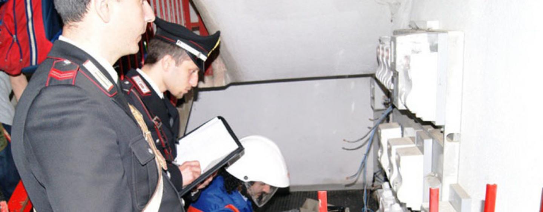 Montoro, furto di energia elettrica: 50enne denunciato dai carabinieri