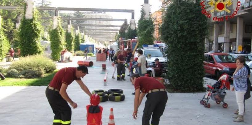 I Vigili del fuoco di Avellino partecipano a Campus 3 S